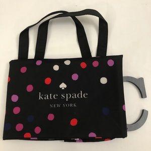 KATE SPADE Extra Large Polka Dot Shopper Tote